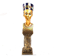 Egypt series of the Queen's head antique resin egyptian statues wholesale