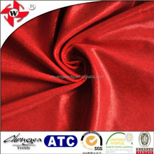 chuangwei textile simi-gloss beautiful bright red foil printed nylon lycra fabric /Mystique Spandex Fabric