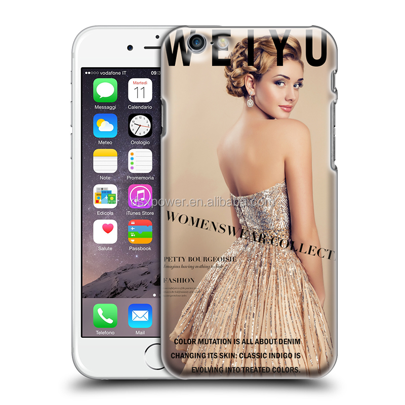 Manufacturer wholesale high quality cheaper price celebrity poster pc cover mobile phone case for iphone 6 6s plus