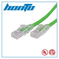 CE Rohs cat5e rj45 connector utp cat5e patch cord cables ethernet