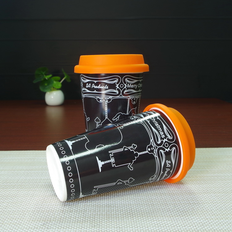 tumbler color changing magic ceramic coffee mug without handle