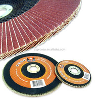 T27 Alumina Zirconia Abrasive Flap Disc for Stainless Steel with fiber-glass Backing