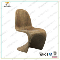 WorkWell China 2015 New Design Unique Model Rattan Sofa Bar Stool/luxury bar chair KW-B2344a