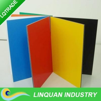 Wide (2000mm) Aluminum composite panel for digital Printing Manufacturers