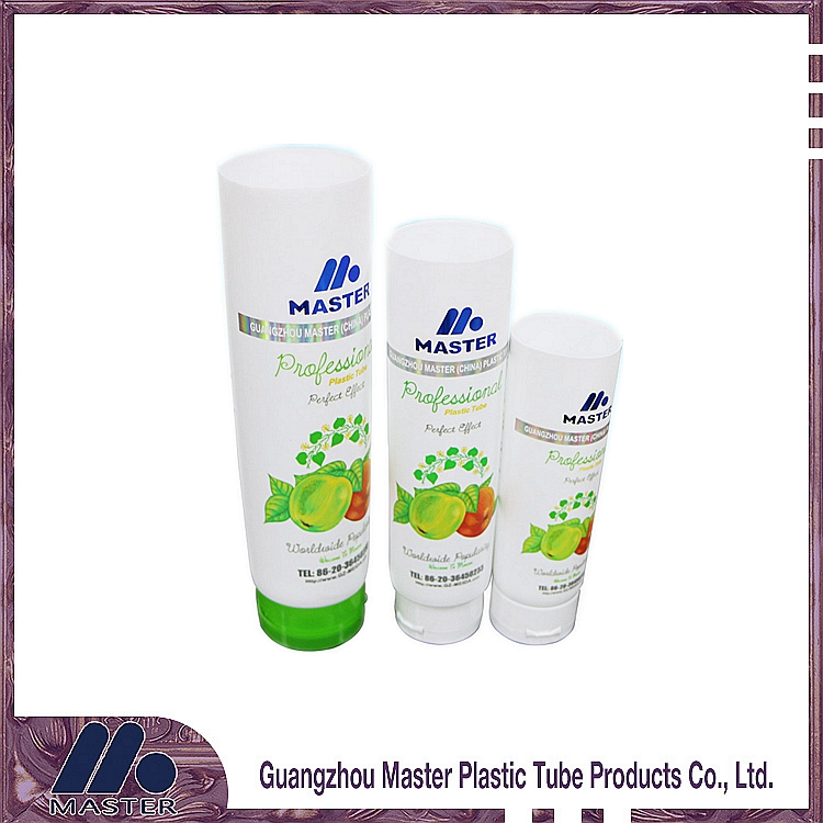 200ml High-quality cleanning plastic cosmetic tube with screw /flip top cap