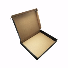 Customize high quality gold stamping logo corrugated shipping box printing
