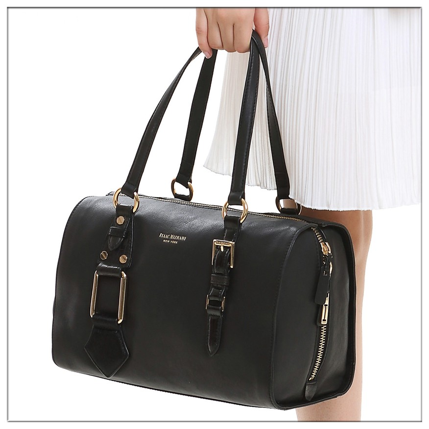 Large Satchel Handbags Michael Genuine Leather Women Beach Straw Bag