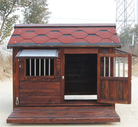 Outdoor Waterproof Large Solid Wood Dog House and for Pet Size XL