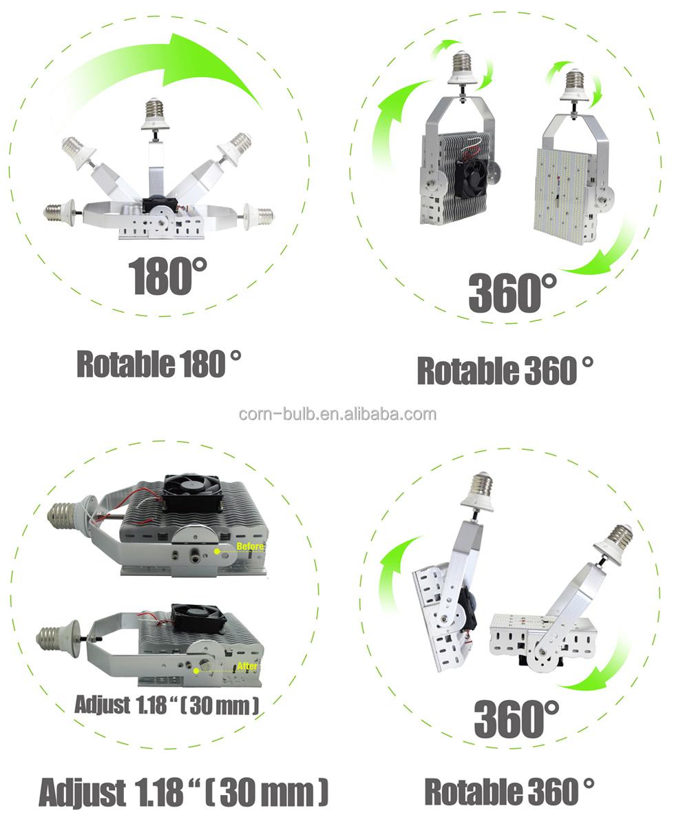 347 Volt 480v Led Street Light Bulb E39 E40 Replace 400w