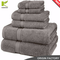 Wholesale luxury soft plain towels bath 100 cotton bath towel/face towel/beach towel for home and hotel