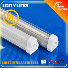 8feet 2400mm light fixture T5 seamless integrative lights Saa Rohs energy star t5 40w circular fluorescent tube