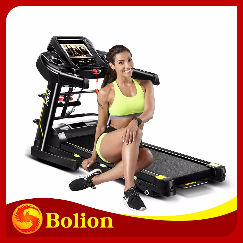 2.5 hp dc motor 480mm folding lose weight walking walker treadmill cardio rowing machine//