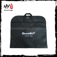 Plain suit cover nonwoven, non-woven folding garment bags, commercial garment bag