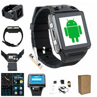 2015 Innovative New Product MTK6577 Android WiFi wrist watch tv mobile phone