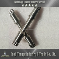 China Best Selling Precise Titanium CNC