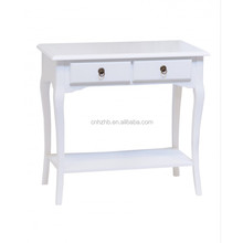 2017 market popular modern entrance wood console table & console furniture table white