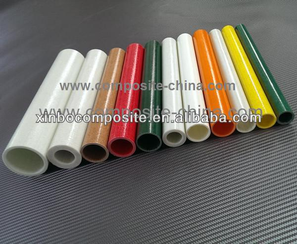 epoxy colorful fiberglass insulated poles