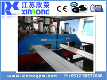 China Xinrong plastic sheet cutting machine /extrusion line