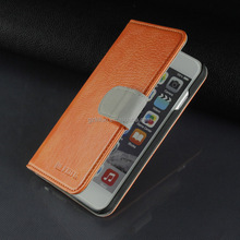 PU Leather Mobile Phone Case for Iphone 6 wallet case