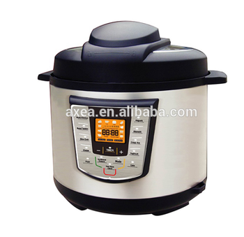 Big LCD screen high quality electric pressure cooker multicooker pressure adjustable