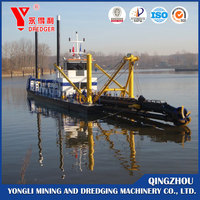 Yongdeli 6 ~22 inch sand dredge/cutter suction dredger/vesssel/ship for sale