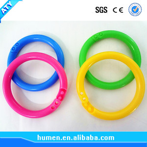 Plastic Eco-Friendly snap ring split ring loose leaf ring