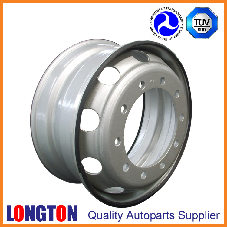 High Quality Steel Wheel 22.5x8.25 Tubeless European Type for MB ACTROS