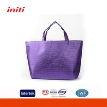 Promotional RPET Handled Metallic Lamination Nonwoven Bag