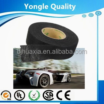 Flexible and easy to handle automotive polyester fleece tape
