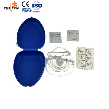 Disposable Medical CPR mask for emergency treatment