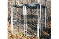 handmade dog kennel