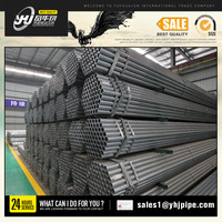 bs1387 pre galvanized steel pipe