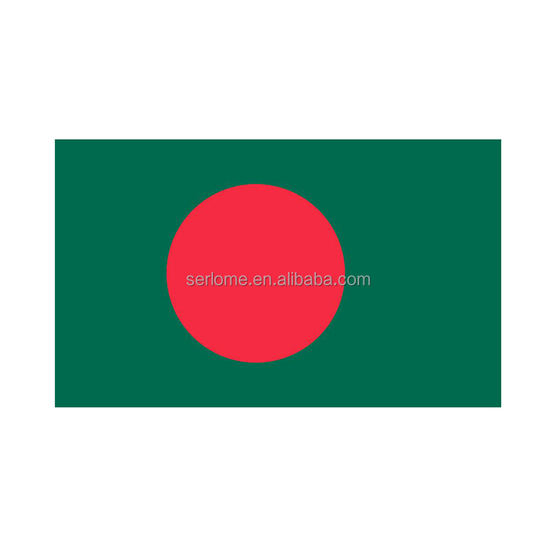 Low Price Bangladesh Flag Badge From Producer