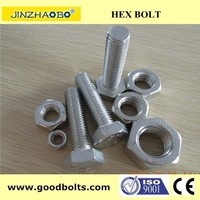 m30 DIN933 HDG hex bolt