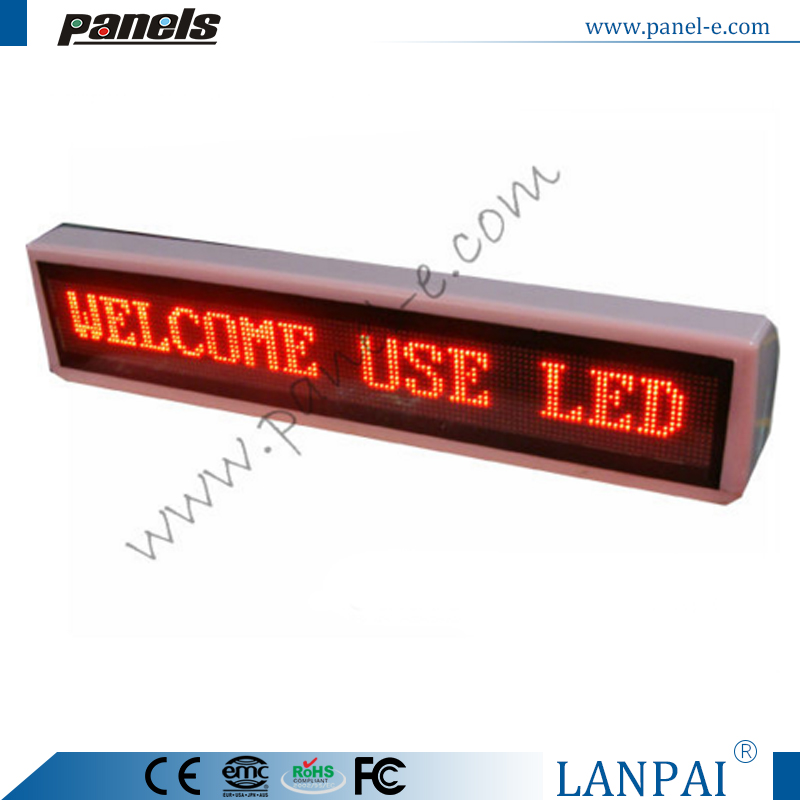 Factory price led taxi top advertising sign screen