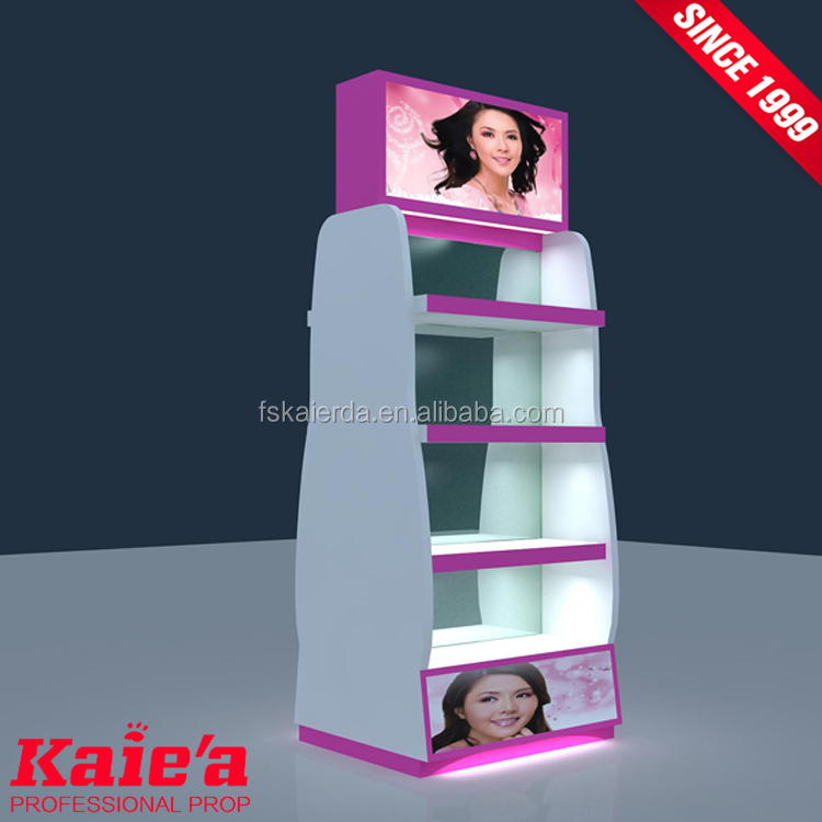 Discount cosmetic cabinet stands cosmetic display design furniture
