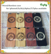 Mobile Accessories Laser engraved custom real wood phone case for iphone SE, For iphone 5 SE carved for iphone 6 6plus
