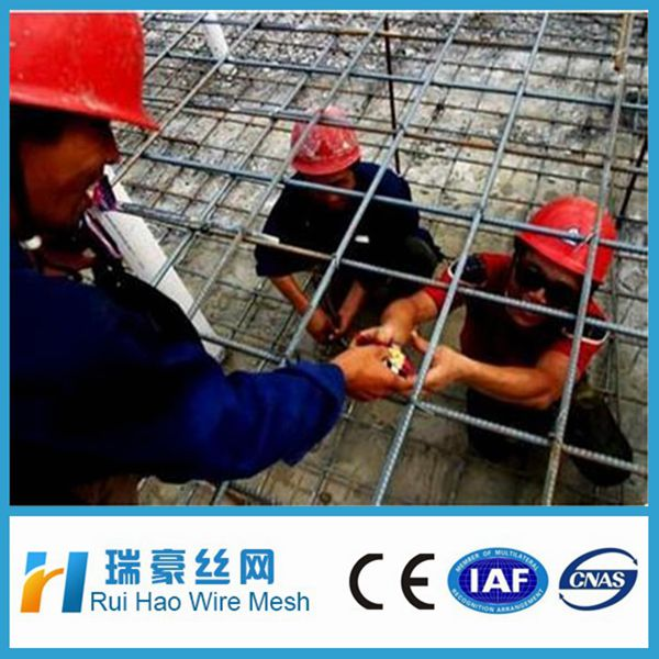 rebar welded wire mesh panel for concrete