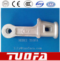 Galvanized Malleable Iron Tension Clamp In Power Accessories (wedge type )