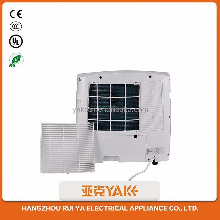 Commercial mini quiet portable humidity removing control easy home air drying dehumidifier