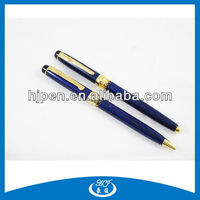 High Quality Metal Pen Set, Ball Pen And Roller Pen