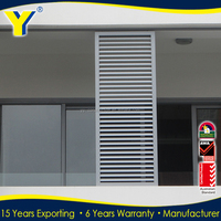 aluminum louver shutters and exterior sun shade louvre to Perth/sydney/melbourne