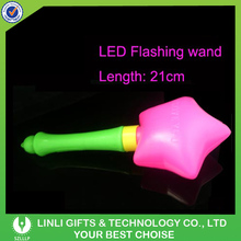 Non-toxic New Year's Gift Fashionable Party Toys Light Up Princess Wand