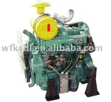 Ricardo twin cylinder name of parts of diesel engine
