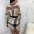 2018 fashion plaid stripe bodycon women night club wear dress