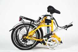 "26"" mini electric folding bike electric motorcycle chopper"