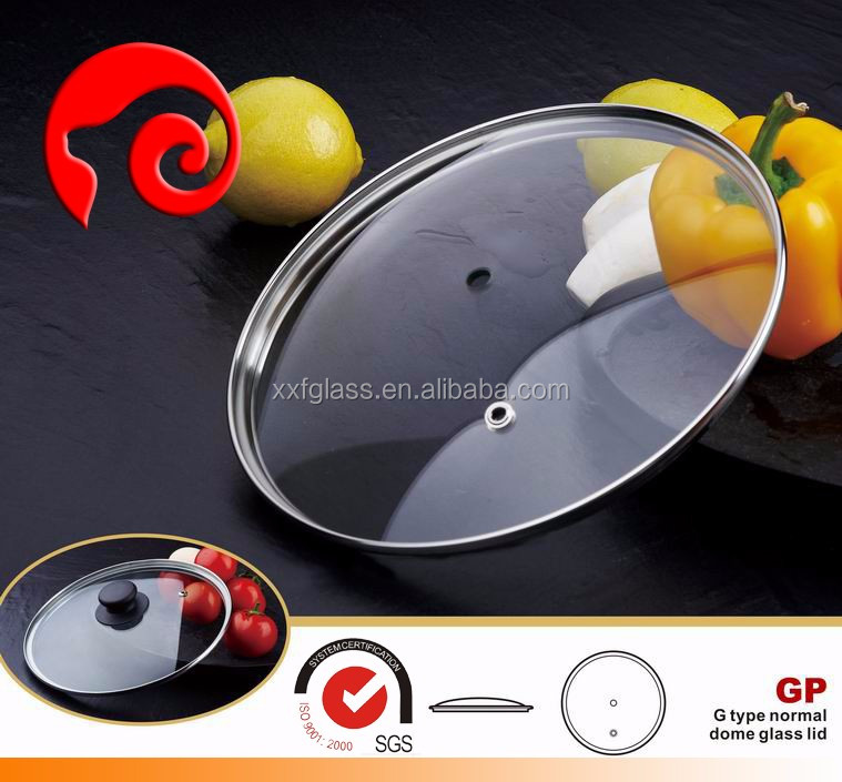 G type tempered glass lid cookware lids manufacturer