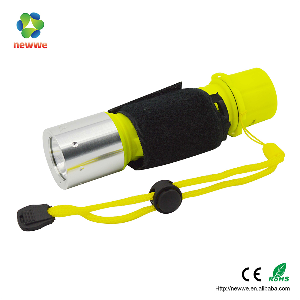 40M waterproof grade magnetism flashlight ultra bright LED diving power wide angle 10000 lumens diving led torch