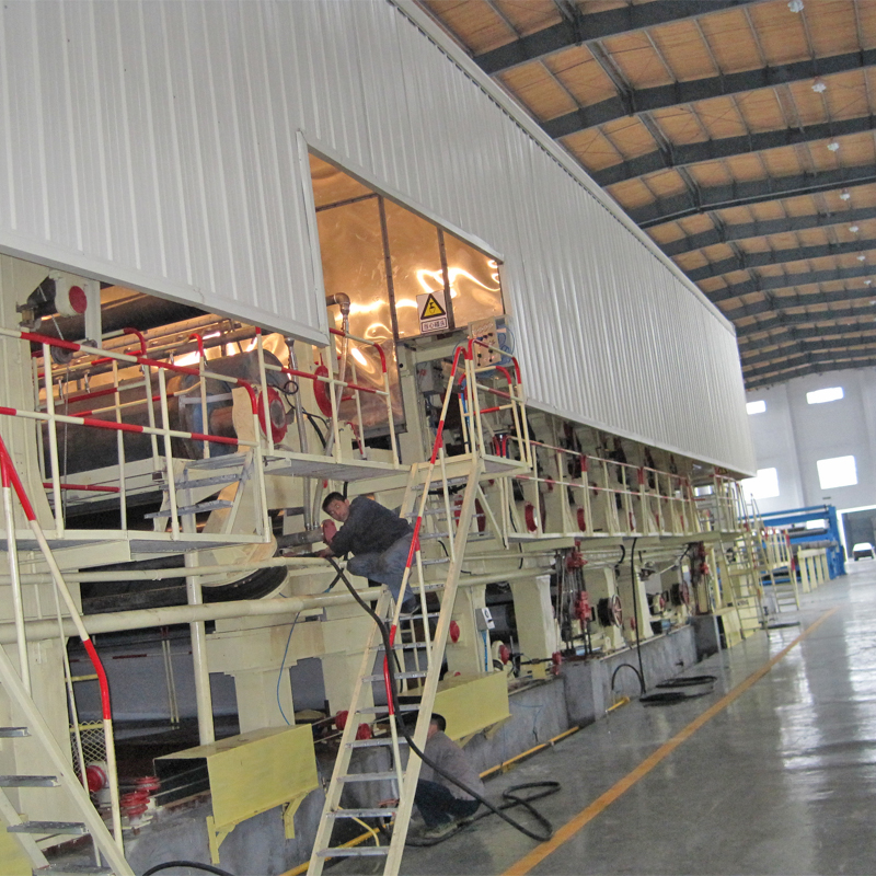 Waste paper recycling machine of corrugated Paper Making Machine