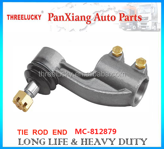 Factory price auto parts heavy duty tie rod end MC-812879 MC-812880 for MITSUBISHI truck with super quality